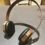 胡桃木手工耳機。mini MUGO